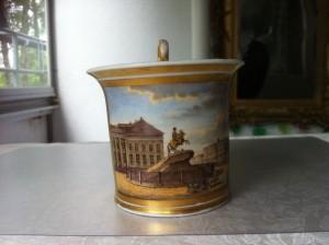 Batenin Cabinet Cup, ei Arabian, vaan Moskovasta ennen vuotta 1820.