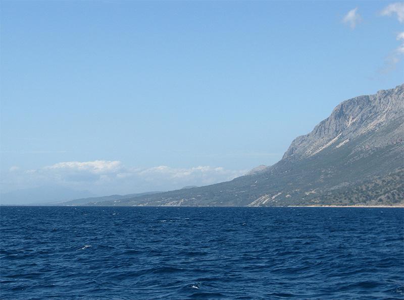 Saarten vuoret jäävät taakse